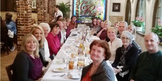 St. Augustine Humane Society volunteer lunch at Columbia Restaurant, St. Augustine